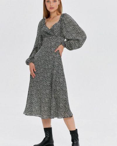 Прямое платье - серое Cardo