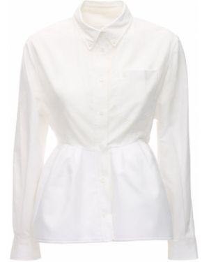 Klasyczna fioletowa klasyczna koszula bawełniana Pushbutton