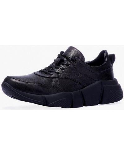 Черные кроссовки низкие Emmelie Delage