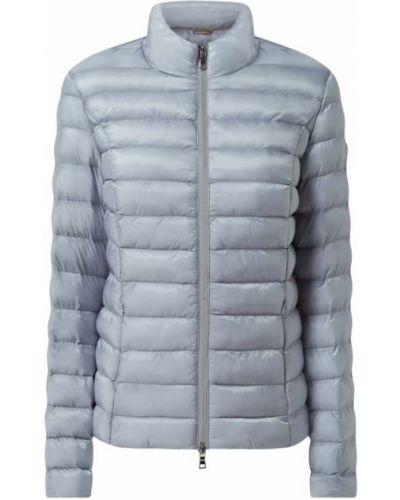 Niebieska kurtka pikowana z nylonu No.1 Como