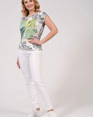 Хлопковые джинсы - белые Ouí
