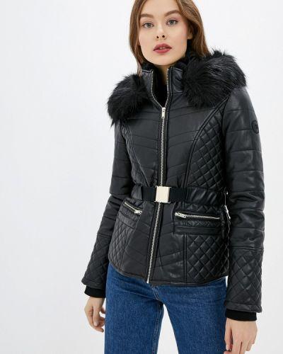 Кожаная куртка черная осенняя River Island