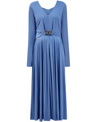 Длинное платье из вискозы Valentino