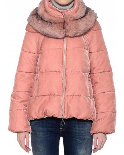 Куртка осенняя розовая Twin-set
