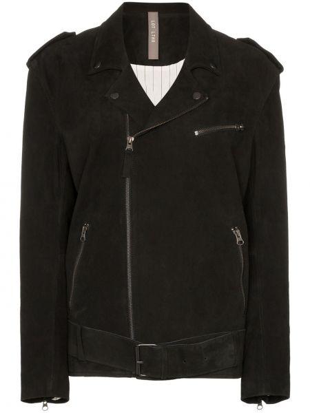 Черная куртка с манжетами Lot Lthr