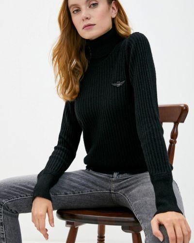 Черный свитер Aeronautica Militare