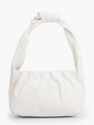 Кожаная белая сумка Lamania
