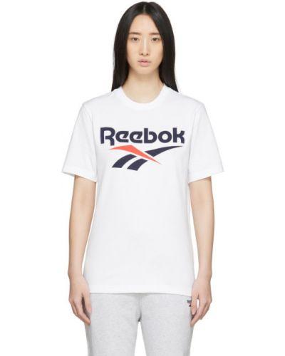 Рубашка с коротким рукавом классическая с принтом Reebok Classics