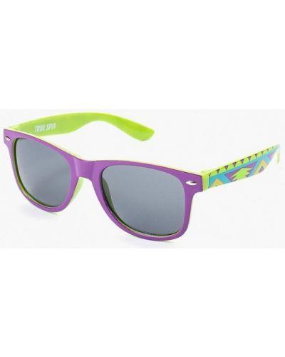 Фиолетовые солнцезащитные очки True Spin
