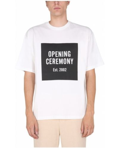Biała t-shirt Opening Ceremony
