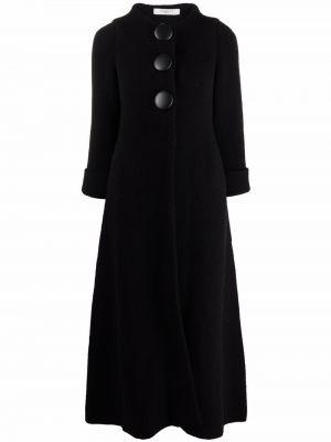 Черное длинное пальто Charlott