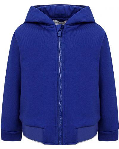Синяя спортивная кофта Armani Junior