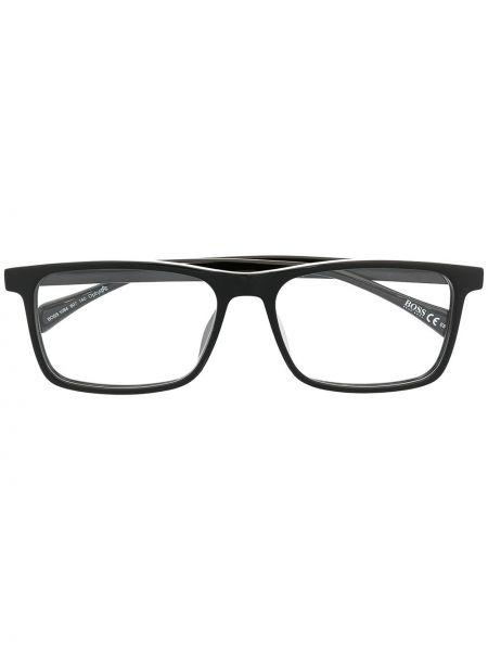 Оправа для очков металлические - черные Boss Hugo Boss