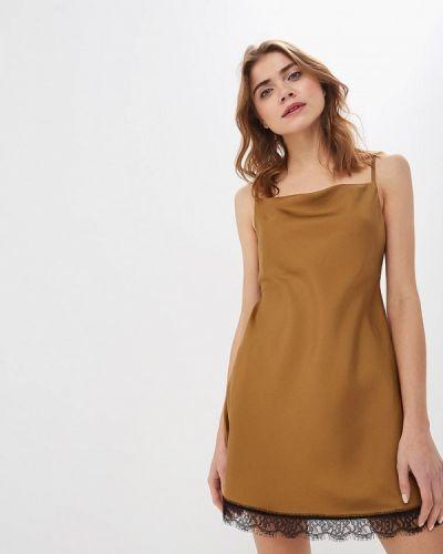 Платье платье-комбинация осеннее форма