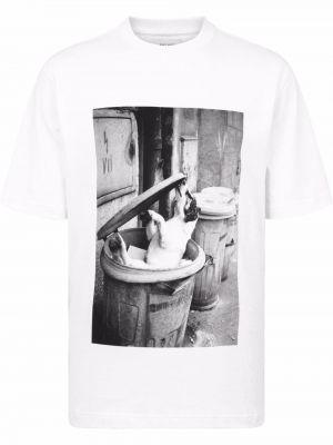 Biała t-shirt krótki rękaw Palace