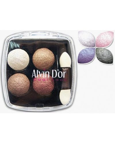 Фиолетовые тени для век Alvin D'or
