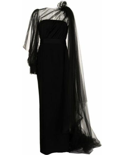 Платье из фатина - черное Paule Ka