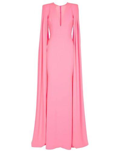 Платье с декольте - розовое Alex Perry