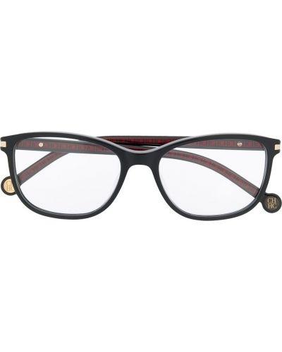 Черные очки для зрения прямоугольные Ch Carolina Herrera