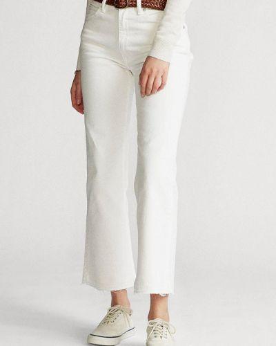 Расклешенные белые джинсы Polo Ralph Lauren