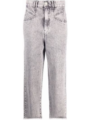 Mom jeans bawełniane Isabel Marant