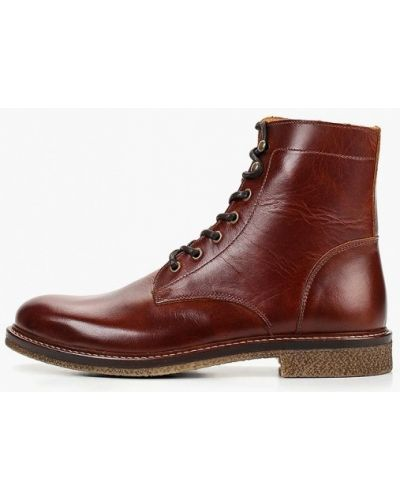Ботинки осенние кожаные португальские Zign