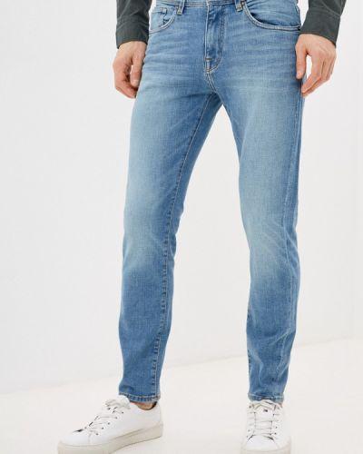 Зауженные джинсы - голубые Selected Homme
