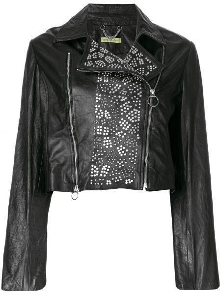 Джинсы mom байкерские Versace Jeans Couture