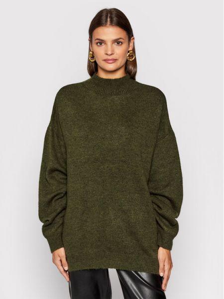 Sweter oversize - zielony Na-kd
