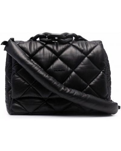 Czarna torebka na łańcuszku skórzana Vic Matie