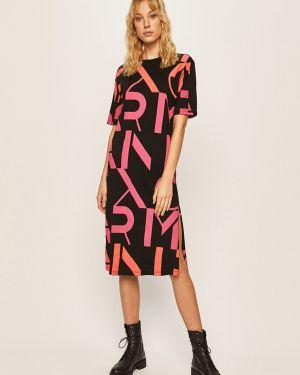Платье миди повседневное с декольте Armani Exchange