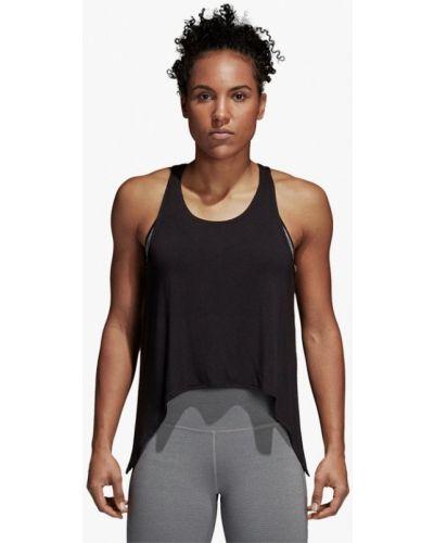Черная майка спортивная Adidas