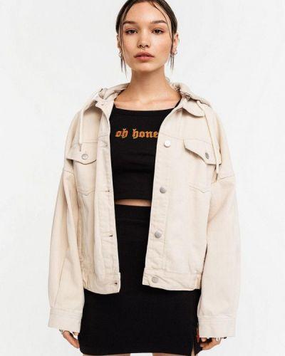 Бежевая джинсовая куртка Befree
