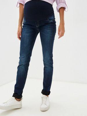 Зауженные джинсы - синие Budumamoy
