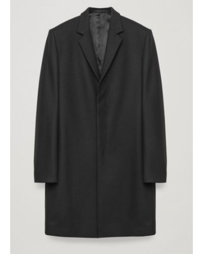 Пальто тренч - черное Cos