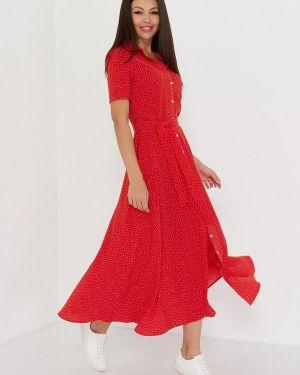 Повседневное платье красный A.karina