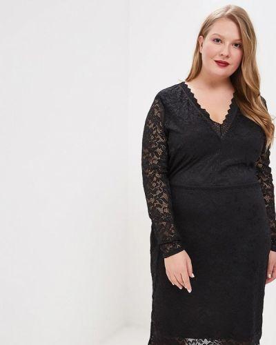 Вечернее платье черное Lost Ink Plus