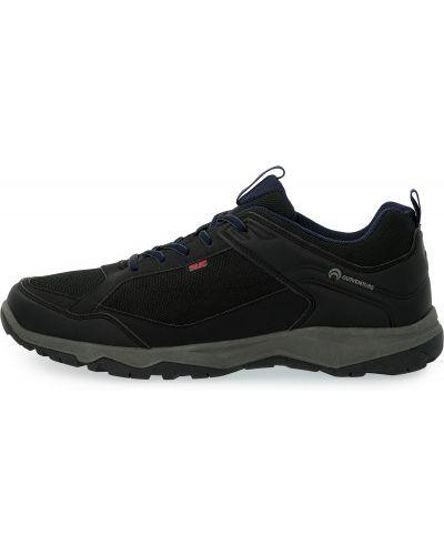 Черные кожаные полуботинки на шнуровке Outventure