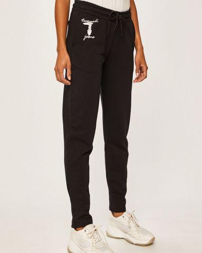 Брюки на резинке с карманами с поясом Trussardi Jeans