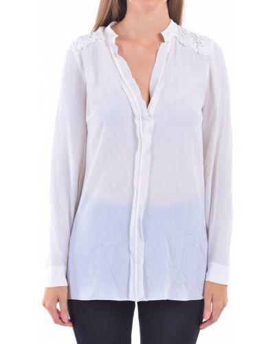 Бежевая блузка Patrizia Pepe