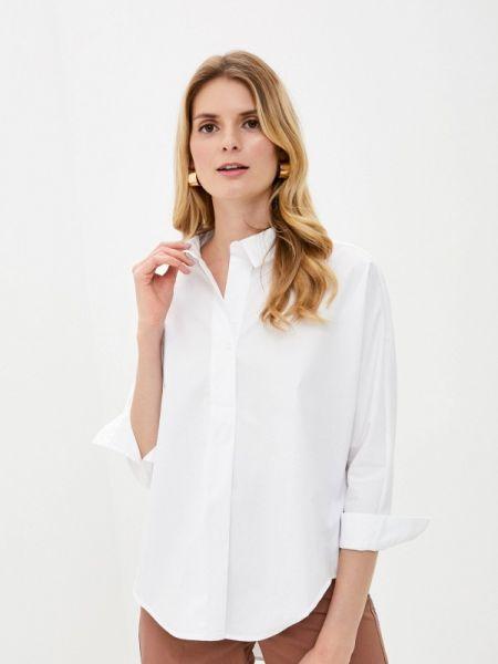 Белая блузка с длинным рукавом снежная королева
