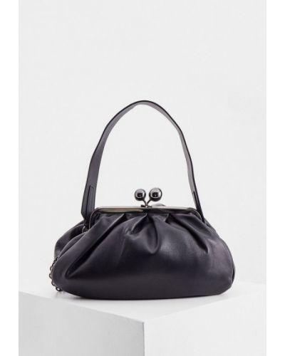 Черная итальянская сумка Weekend Max Mara