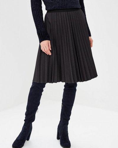Плиссированная юбка турецкий серая Adl