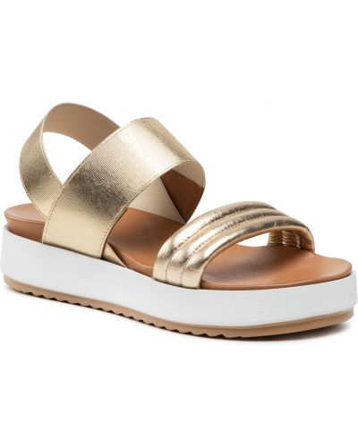 Złote sandały Inuovo