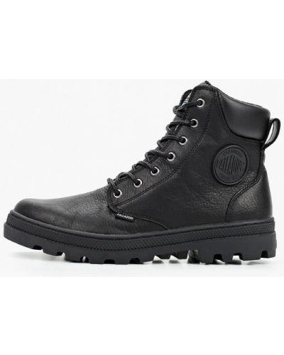 Кожаные черные ботинки Palladium