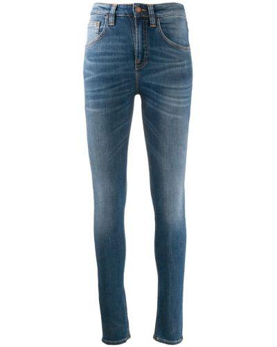 Джинсы-скинни на пуговицах с поясом с пайетками Nudie Jeans Co