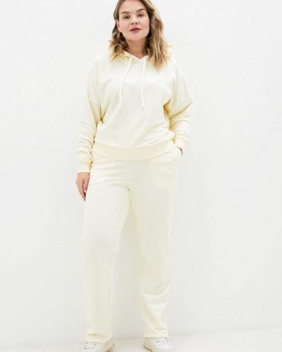 Костюмный бежевый спортивный костюм Chic De Femme