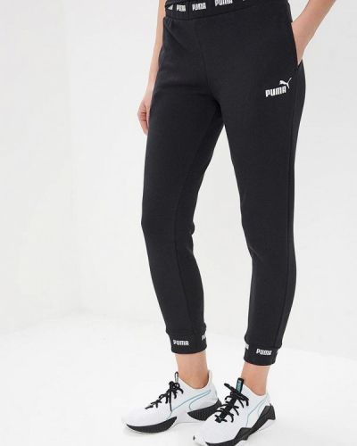 Спортивные брюки весенний черные Puma