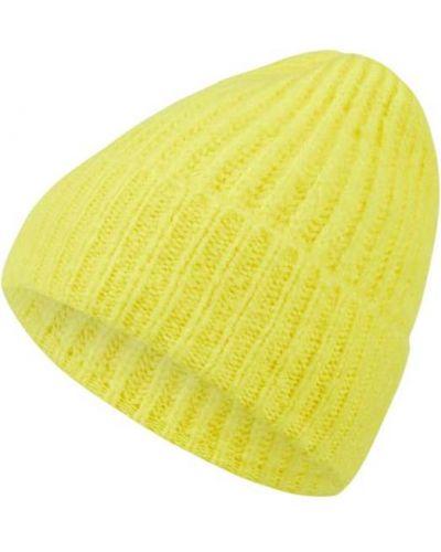 Żółty miękki czapka baseballowa K-ro