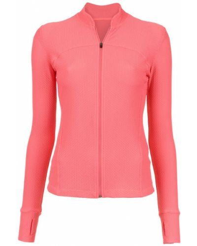 Розовая длинная куртка Track & Field